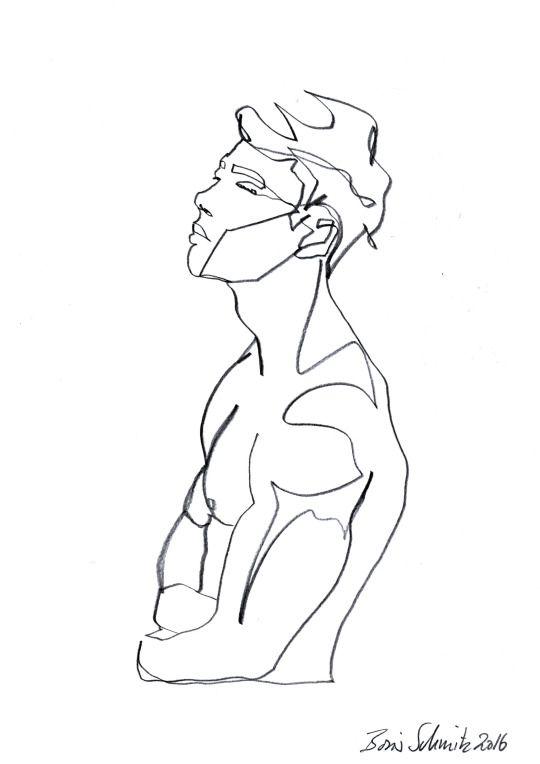 Simple Continuous Line Art : Best contour drawings ideas on pinterest
