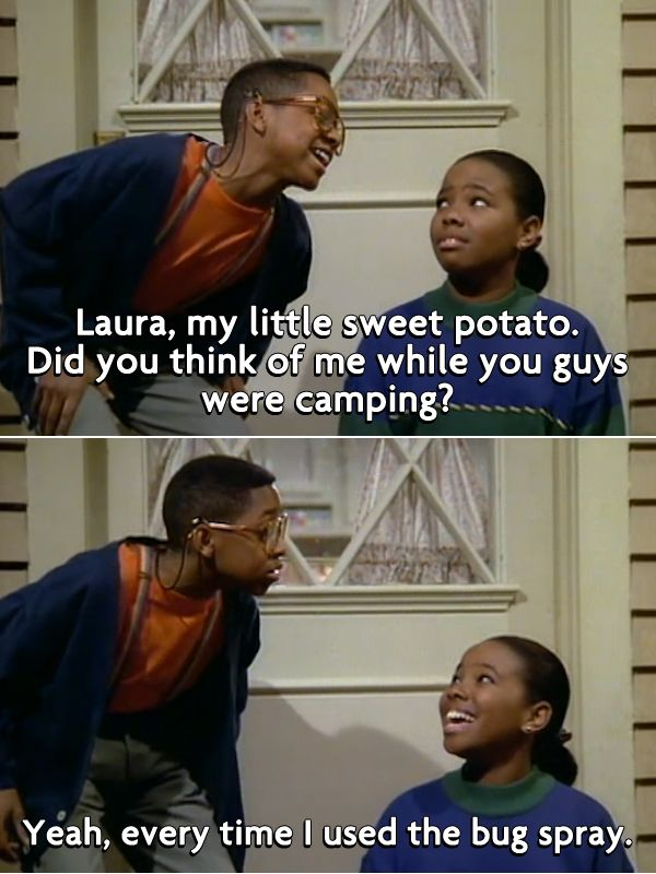 The Best Insults from '90s Kids' TV Shows. I used to dress up as Steve Urkel all the time as a kid. My older cousins said it was free entertainment...haha