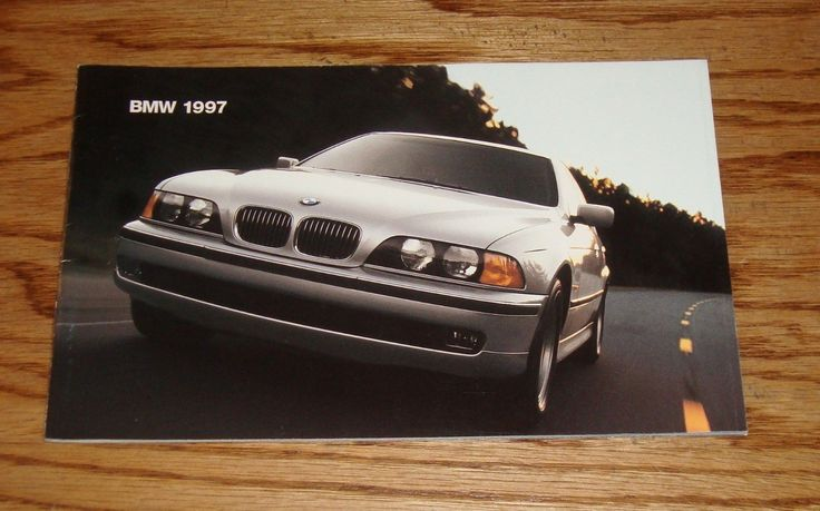 """Original 1997 BMW Full Line Sales Brochure. Measures 8.50"""" x 5.50"""" with 32 pages. Excellent condition.   eBay!"""