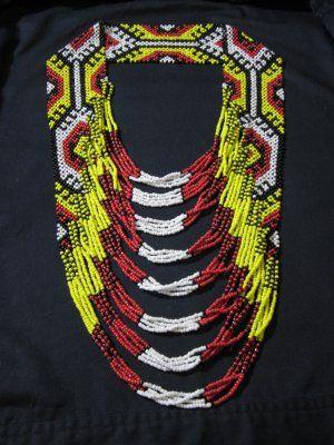 Philippine Tribal Beadwork Necklace | Ethnic | Pinterest ...