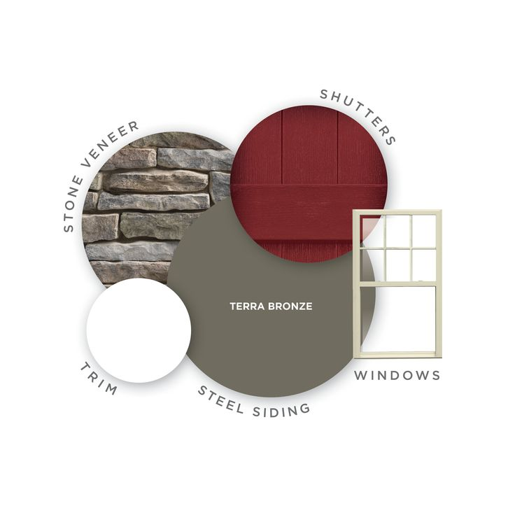 Steel Siding | Color: Terra Bronze | Steel siding offers an infinite number of siding colors for your home. Click through to see more color options.