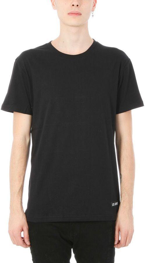 Les (Art)ists Les Artists Owens 62 Black Cotton T-shirt