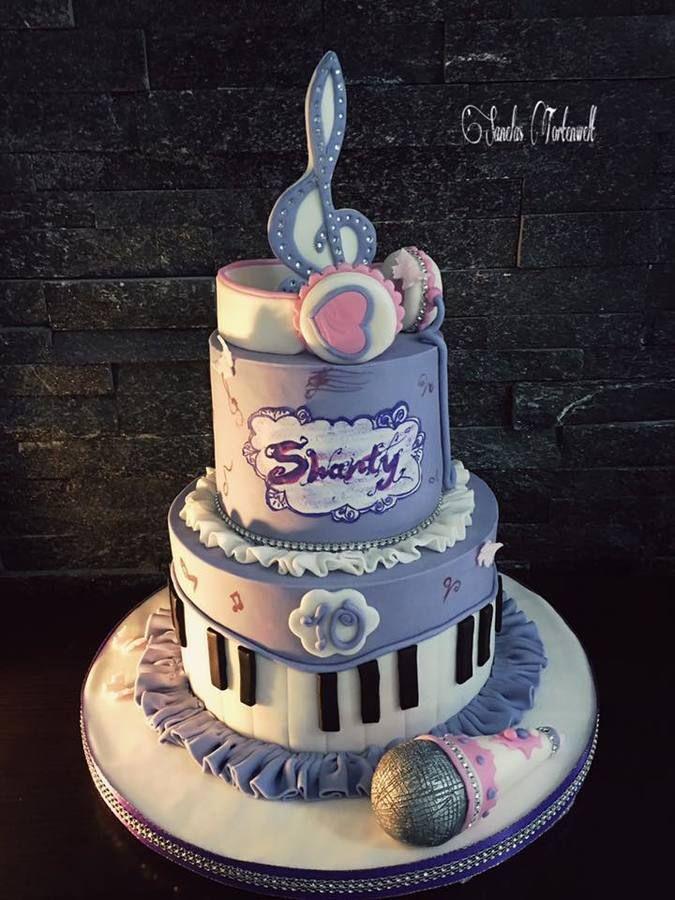 Disney Violetta Torte Violetta cake