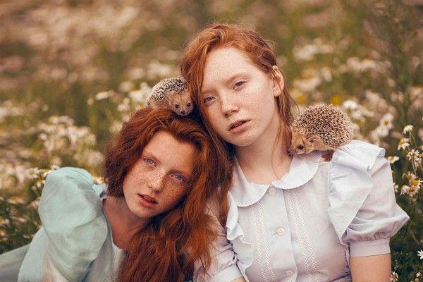 Katerina Plotnikova Surreal Photographs with Real Animals 3
