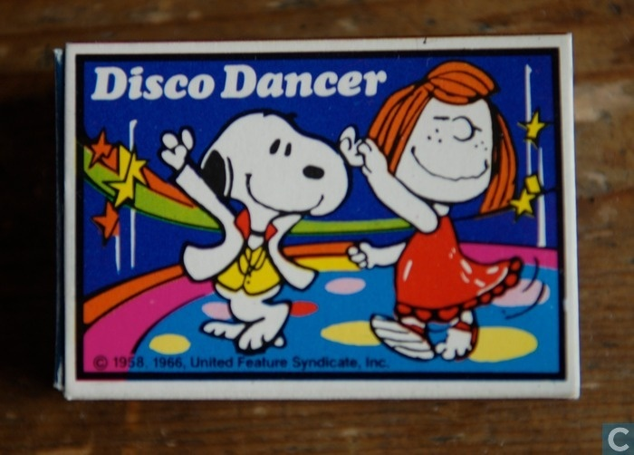 Snoopy & Peppermint Patty - at the Disco!