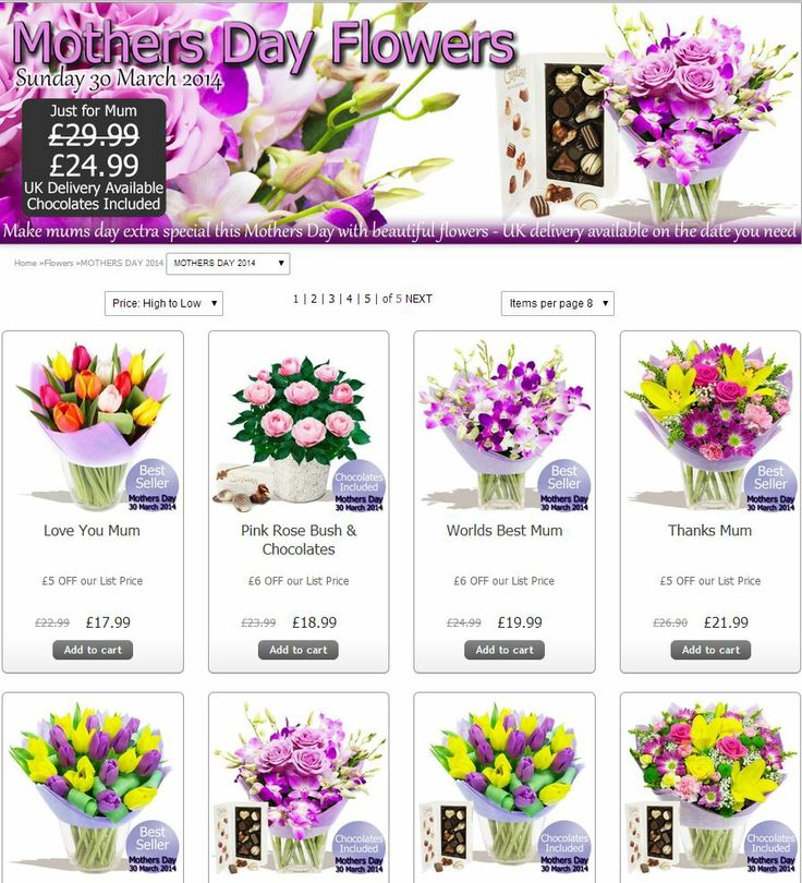 Mother's Day! Have you left it to the last minute to buy a gift for your Mum??? Don't panic there's still still to order some beautiful flowers >>>  http://www.eden4flowers.co.uk/content/content_prod_list.numo?idarea=1&idareacat=39