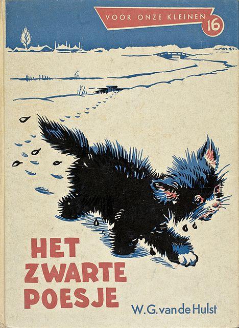 Het zwarte poesje, W.G. van de Hulst.