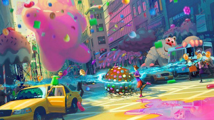 concept art to candy crush ssoda - Szukaj w Google