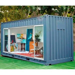 1234 best images about patio ideas back yard on pinterest patio ideas chain link fence and - Container art studio ...