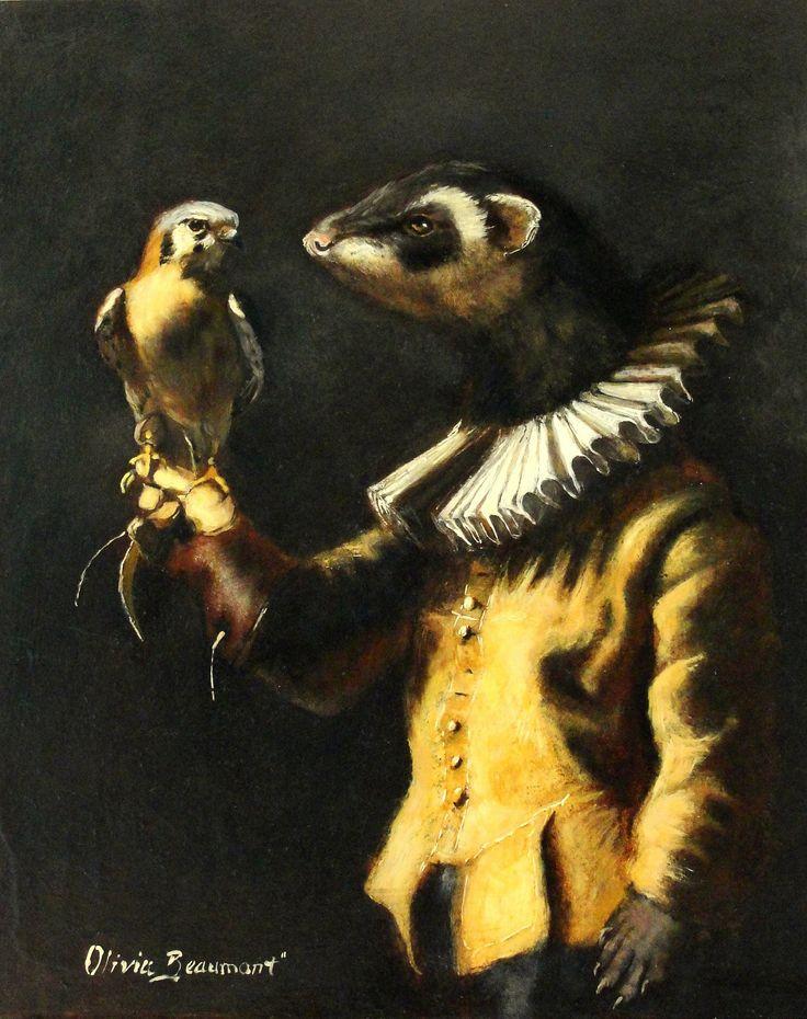 Famous Ferret Paintings