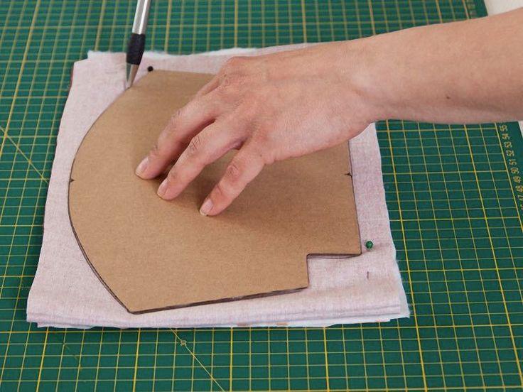 Tutorial fai da te: Come fare un borsellino in tessuto con chiusura clic clac via DaWanda.com