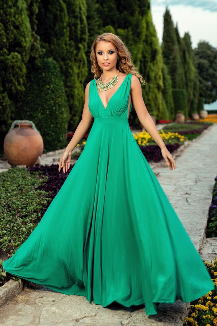 Rochie Catalyna Verde #magazindefashion