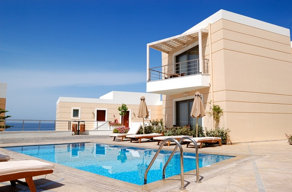 A villa in Crete: Swimming Pools, Fantastic House, Luxury Villas, Vacations Rental, Dream House, Real Estates, Travel Pin, Crete Greece, Modern Luxury