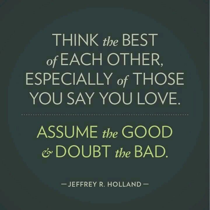 """""""How Do I Love Thee"""" talk- by Elder Jeffrey R Holland--- need to always remember this!"""
