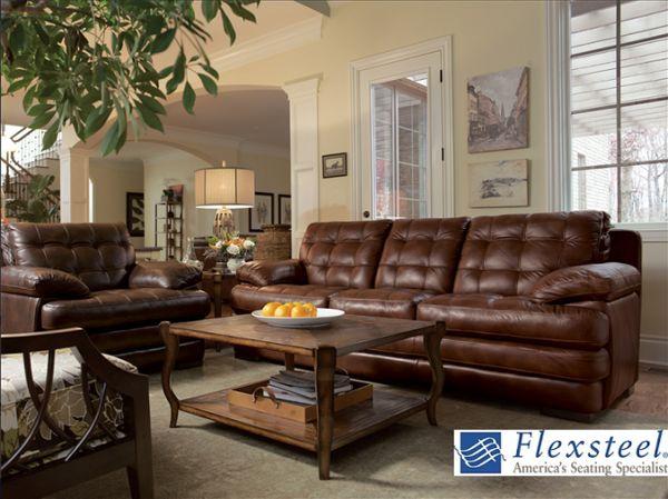 Best Flexsteel Images On Pinterest Home Furniture Living Room - Flexsteel sofa leather
