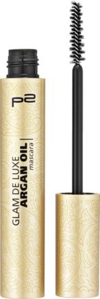 p2 cosmetics Wimperntusche glam de luxe argan oil mascara argan black 010, € 3,75