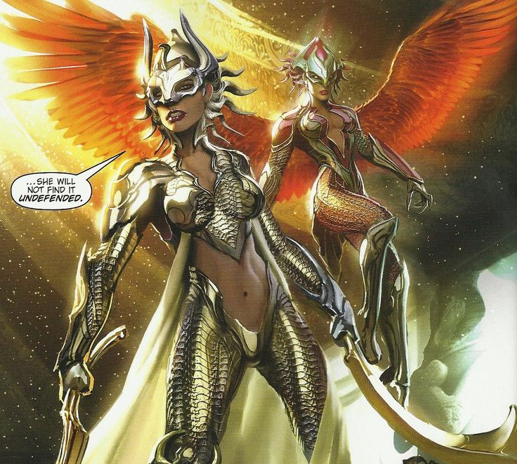 Witchblade: Witchblade & Angelus (Hora) of ancient Egypt ...