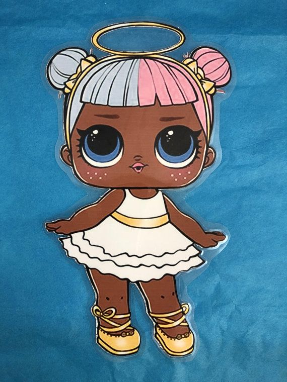 Lol Surprise Dolls Sugar Laminated Paper Doll New Gift