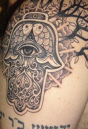 Hamsa Tattoo The Evil Eye And The Hand Of Fatima Hamsa