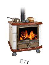Poêle de cuisine Roy, Cuisinière à bois Oliger