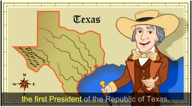 I was the first. Vote for Me! - Sam Houston video
