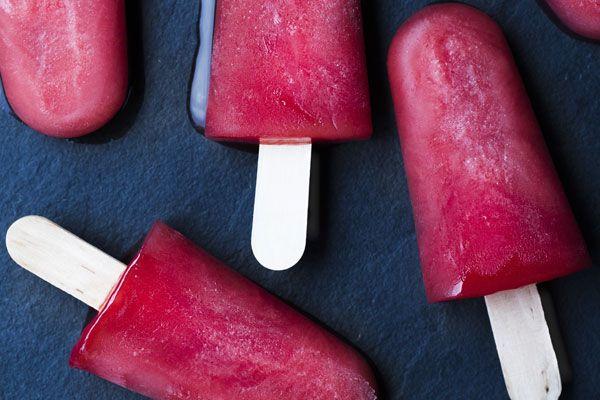 Gingermintmelon ice blocks