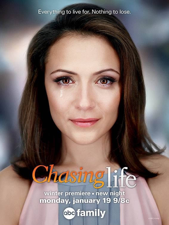We love the new poster for Chasing Life! Don't miss the Winter Premiere on an all new night Monday, January 19 at 9pm|8c on ABC Family!