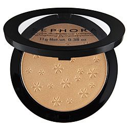 Sephora Highlighting Compact Powder  Colors: Gold, Pink  This has a great, subtle shimmer.