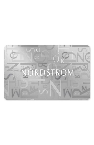 Nordstrom is one of only a few stores that I enjoy buying clothes from. And since I'm a precious princess, I'm pretty particular about what I get. So gift cards are great!