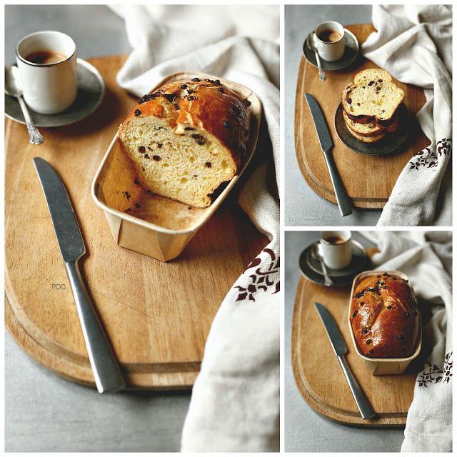Pan Brioche senza impasto con gocce di cioccolato | PANEDOLCEALCIOCCOLATO