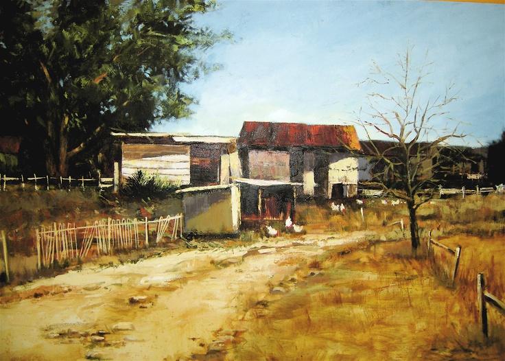 Rika De Klerk. Farm house