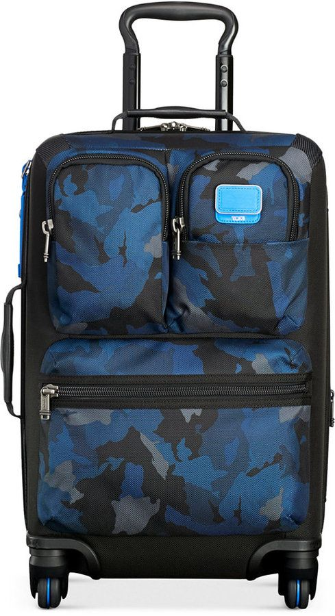 "Tumi 20% Off Alpha Bravo 22"" Kirtland International Expandable Carry-On Spinner Suitcase"
