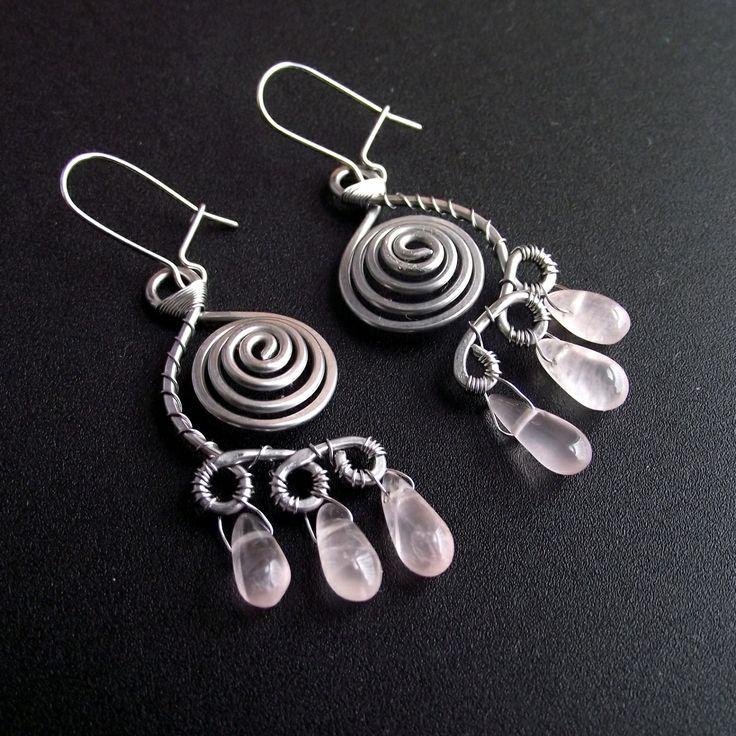 cool looking earrings.