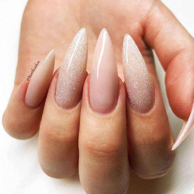 18 Ideen für Acrylnägel, an denen Sie nicht vorbeigehen können ★ Stiletto-Nägel – Nägel