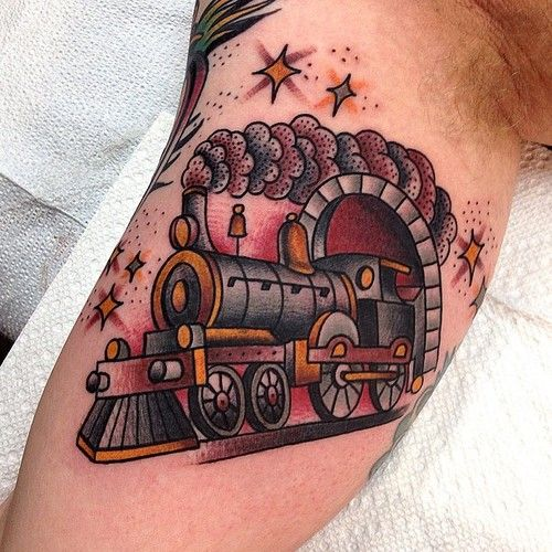 161 best images about train tattoo on pinterest