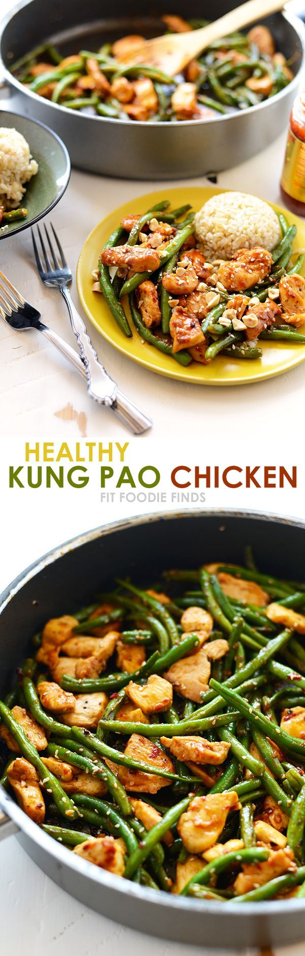 Got 20 minutes? Make this Healthy Kung Pao Chicken with just 8 simple…
