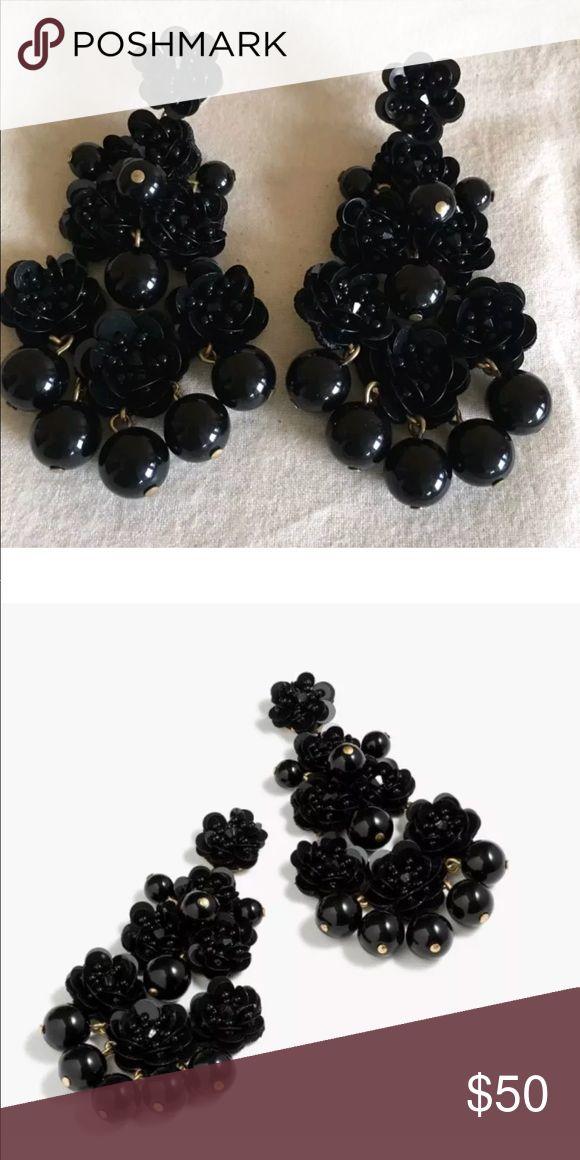 J.crew Beaded garden earrings NWT Sold out!! Absolutely stunning! J. Crew earrings!! J. Crew Jewelry Earrings