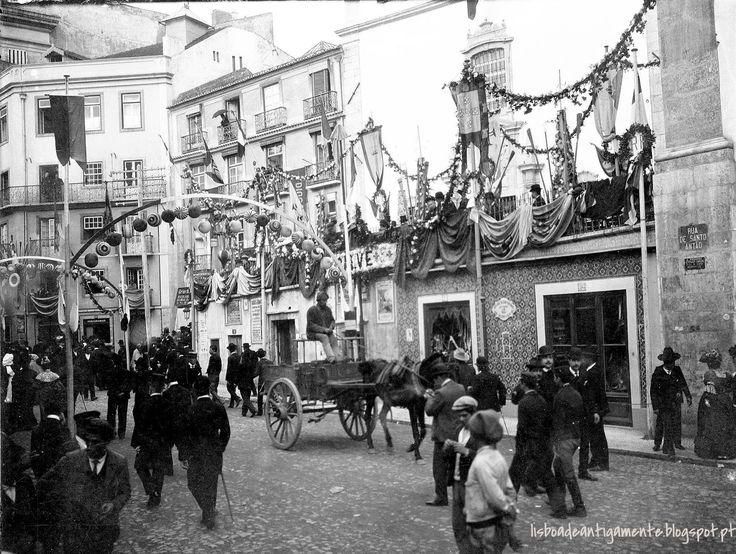Rua das Portas de Stº Antão, 1910