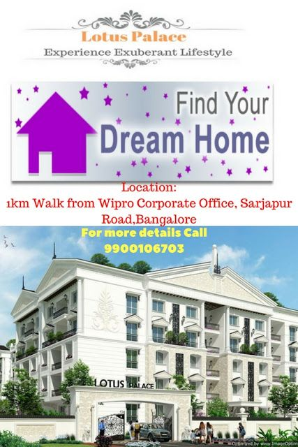 Apartments in Sarjapur road, Bangalore | Flats for Sale in Sarjapur – Lotus Palace: It's a Beautiful Apartments in sarjapur road Apartments in Sarjapur road, Bangalore | Flats for Sale in Sarjapur – Lotus Palace
