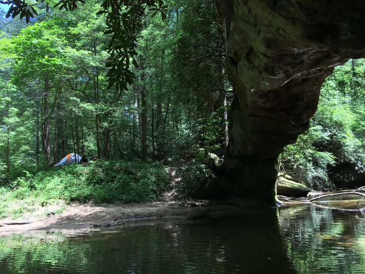 My Favorite Camping Spot In The Red River Gorge Kentucky