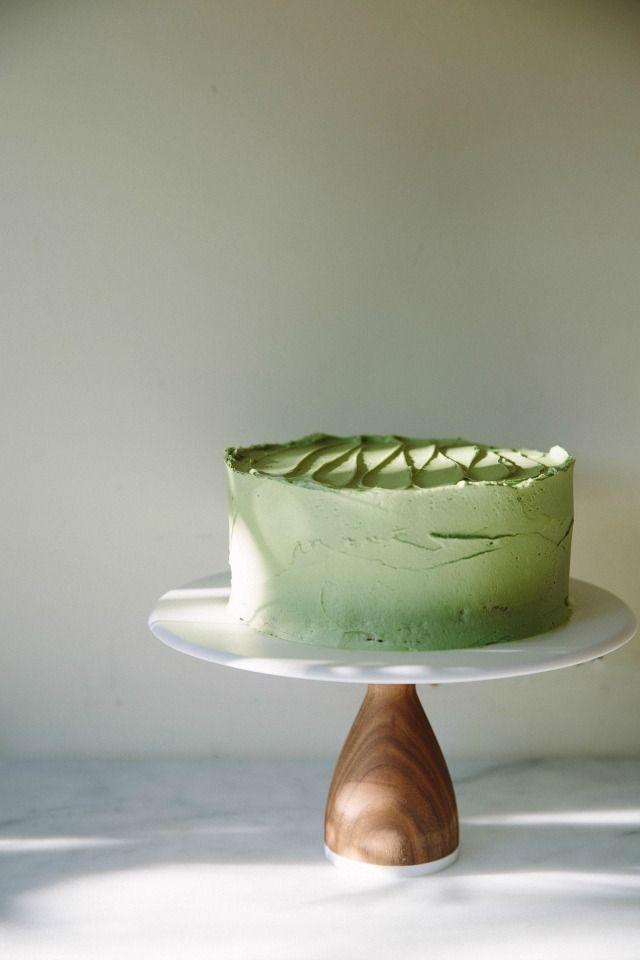 Matcha Birthday Cake Perth