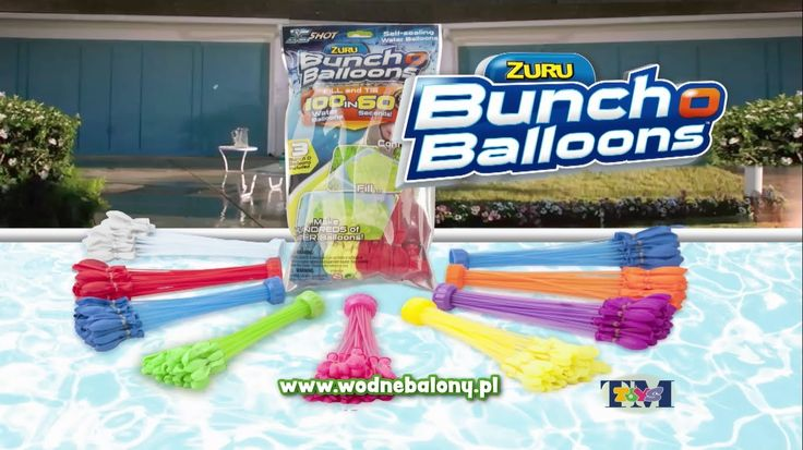 Bunch O Balloons- Balony wodne, TM Toys