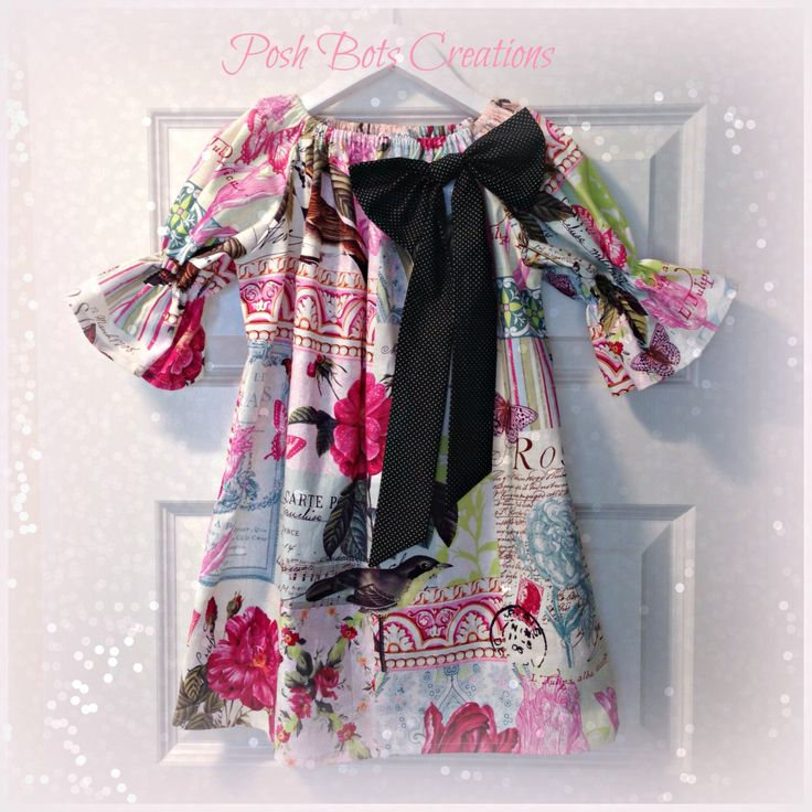 The Paris Bow Dress. A lovely winter dress teamed with a belt or sash, tights & boots. Available to order in sizes NB - 10 years  #handmadeclothes #girlsclothes #babyclothes