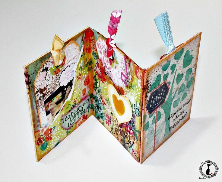 M s de 25 ideas fant sticas sobre tripticos escolares en - Como hacer un album de fotos a mano para ninos ...