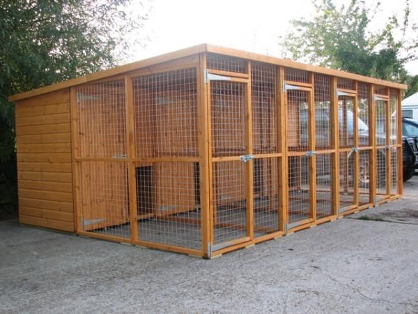 Dog run design block runs dog kennel and run cat for Indoor outdoor dog kennel design
