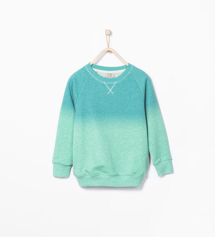 ZARA - KIDS - Dip dye sweatshirt