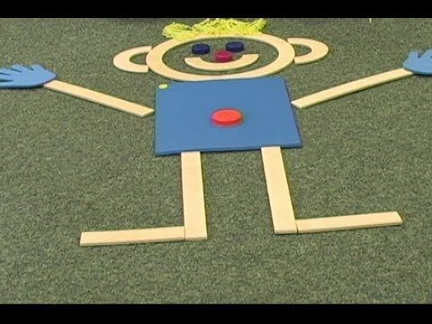 I use this in my 3yr old Head Start classroom and it has made a difference in what my kids know! Developing Body Awareness: Building and Drawing Mat Man