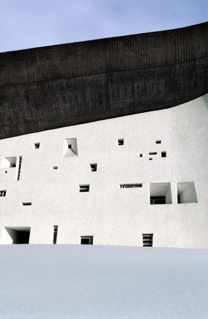 Le Corbusier's Ronchamp Chapel of Notre Dame du Haut, by Adrien Dirand