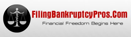 Filing Bankruptcy To Wipe OUt Debt      http://www.filingbankruptcypros.com/      Filing bankruptcy is the best way to become free from unsecured debts, wipe out your credit card bills & strong legal     protection that can stop foreclosure. Chapter 7 bankruptcy & chapter 13 bankruptcy plays a vital role to give strong     legal protection from your creditors.A bankruptcy attorney can help you to get out of debt & give you fresh start by     filing for bankruptcy.