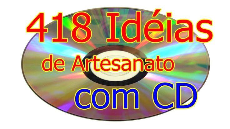 418 Idéias de Artesanato com CD